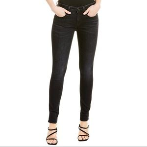 R13 NWT Kate Skinny Jeans in Aiden Black Size 24